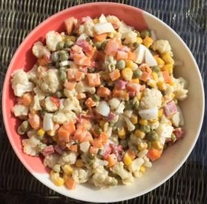 Tapas Russian salad